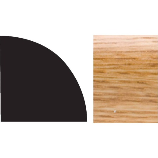 Royal 5/8 In. W. x 5/8 In. H. x 96 In. L. Imperial Colored PVC Interior Quarter Round Molding