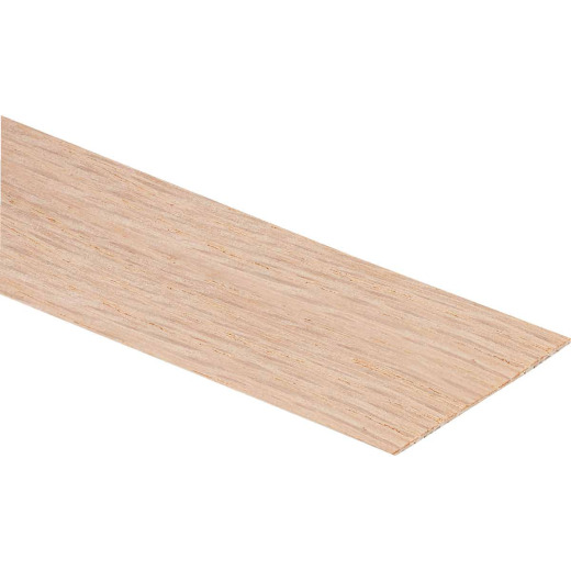 Cloverdale Band-It 7/8 In. x 25 Ft. Red Oak Wood Veneer Edging