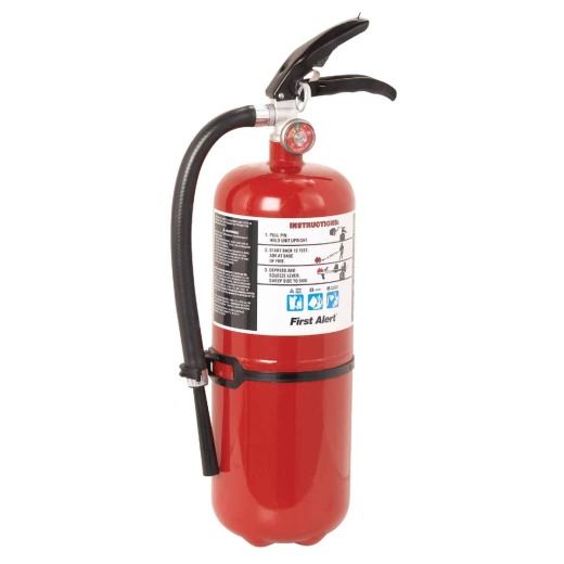 First Alert 4-A:60-B:C Rechargeable Commercial Fire Extinguisher