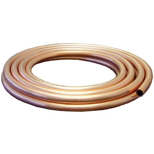 Mueller Streamline 1/2 In. OD x 15 Ft. Utility Grade Copper Tubing