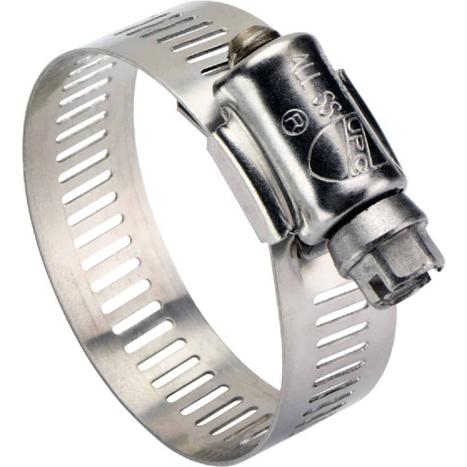 Ideal 3-1/2 In. - 5-1/2 In. All Stainless Steel Marine-Grade Hose Clamp