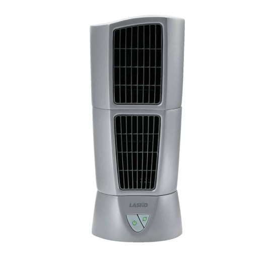 Lasko Platinum 6 In. 3-Speed Gray Desktop Wind Tower Fan