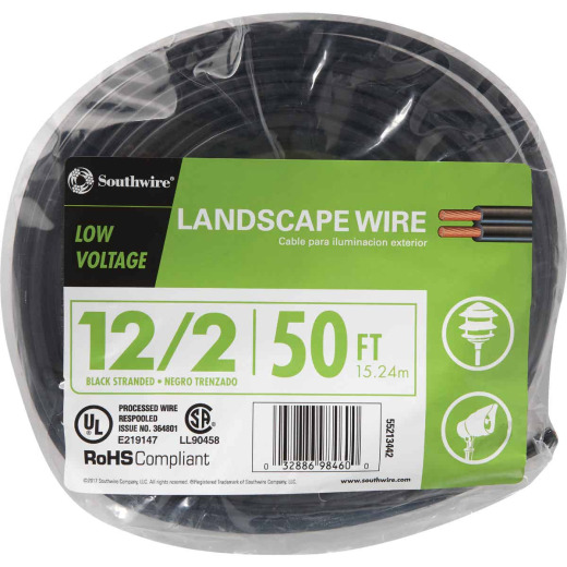 Southwire 50 Ft. 12-2 Stranded Low Voltage Cable