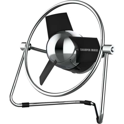 Vornado Sharper Image Small 2-Speed Black USB Powered Desk Fan