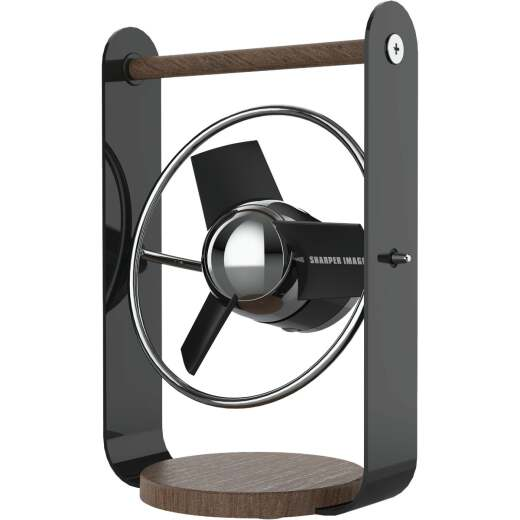 Vornado Sharper Image Small 2-Speed Black USB Desk Fan