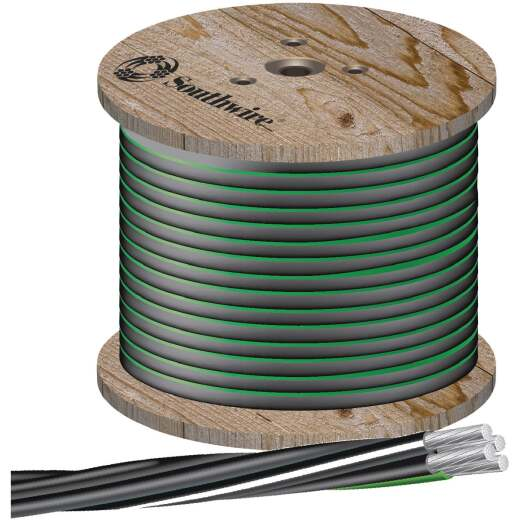 Southwire 500 Ft. 4/0-4/0-2/0-4 4-Conductor Underground Service Entrance Cable