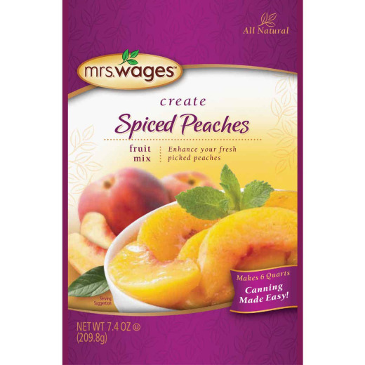 Mrs. Wages 7.4 Oz. Spiced Peach Mix