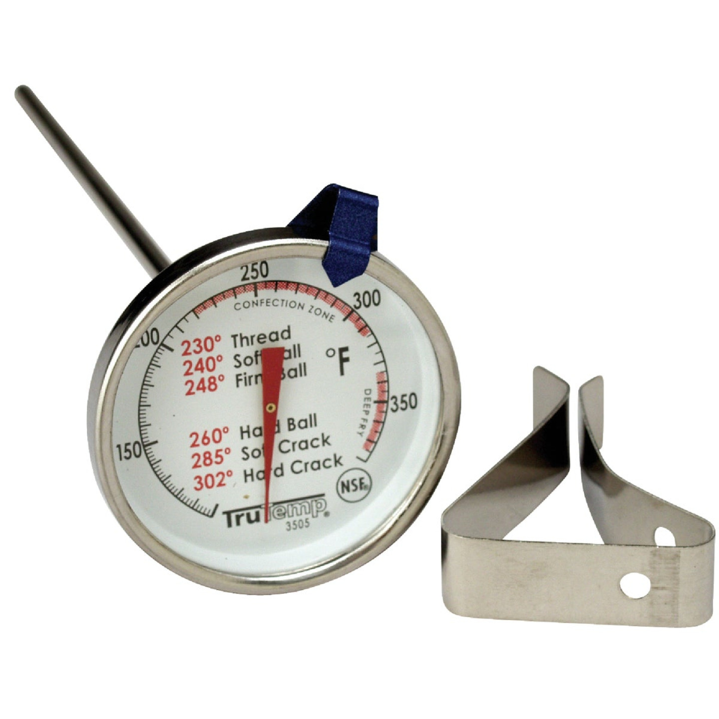 Taylor TruTemp Candy/Deep Fryer Kitchen Thermometer Image 1