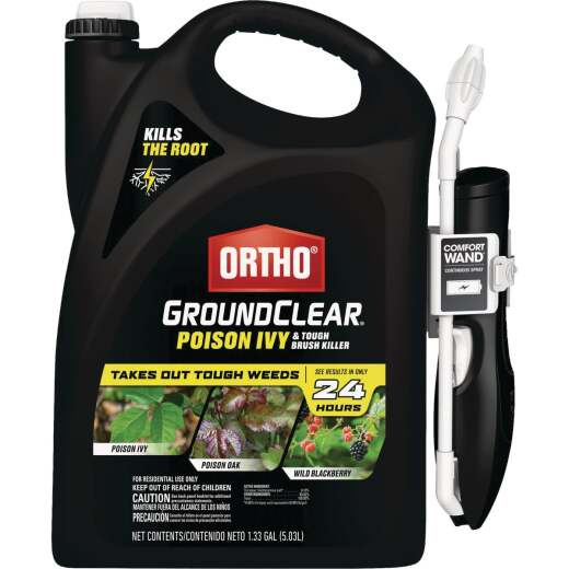Ortho GroundClear 1.33 Gal. Ready To Use Poison Ivy & Tough Brush Killer with Comfort Wand