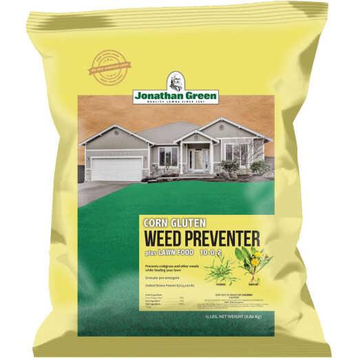 Jonathan Green Organics 15 Lb. 5000 Sq. Ft. 10-0-2 Corn Gluten Lawn Fertilizer with Weed Preventer