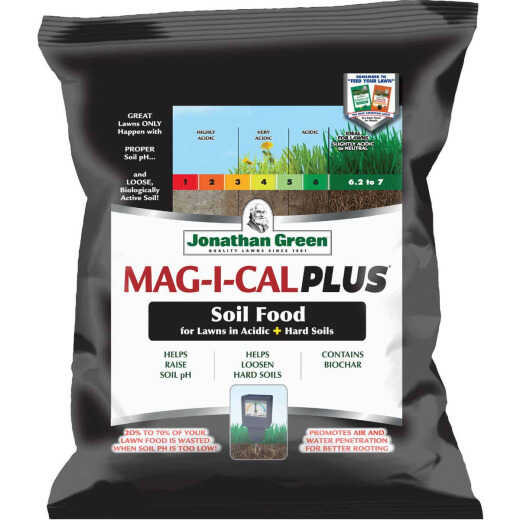 Jonathan Green MAG-I-CAL Plus 18 Lb. 5000 Sq. Ft. 28% Calcium Lawn Fertilizer For Acidic Soil