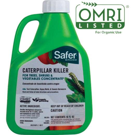 Safer 16 Oz. Concentrate Caterpillar Killer