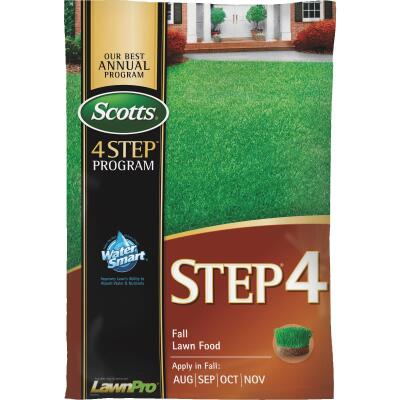 Scotts 4-Step Program Step 4 37.84 Lb. 15,000 Sq. Ft. 32-0-12 Fall Lawn Fertilizer