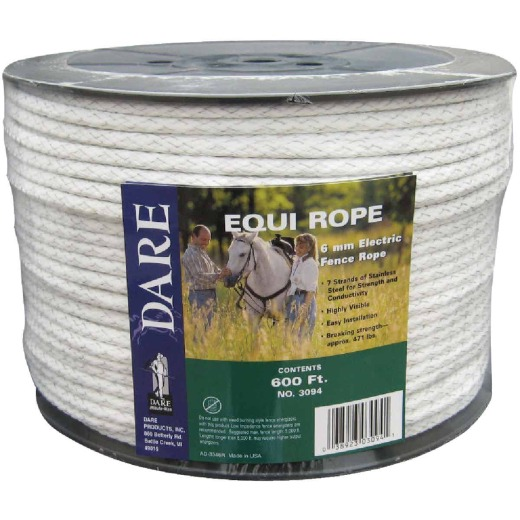 Dare Equi Rope 1/4 In. x 600 Ft. Polyethylene Poly Rope