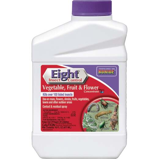 Bonide Eight 16 Oz. Concentrate Vegetable, Fruit, & Flower Insect Killer