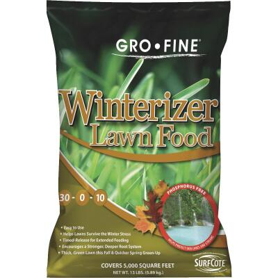 Gro-Fine 13 Lb. 5000 Sq. Ft. 30-0-10 Winterizer Fall Fertilizer