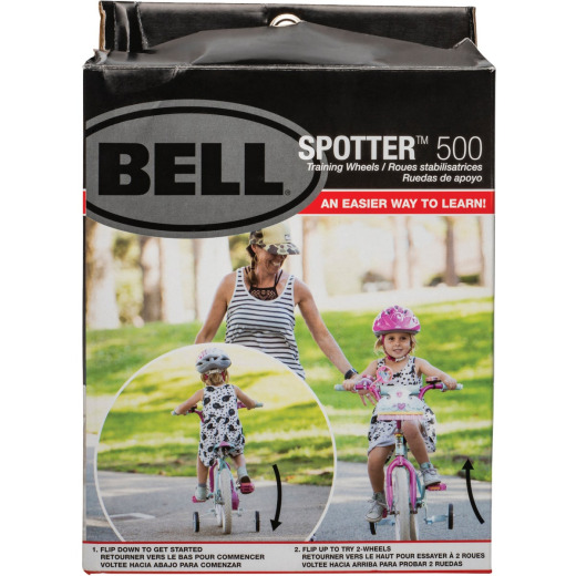 Bell Sports EZ 12 In. to 20 In. White Training Wheels
