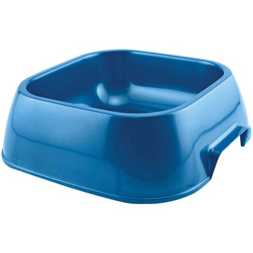 Westminster Pet Ruffin' it Plastic Rounded Square Large Pet Food Bowl