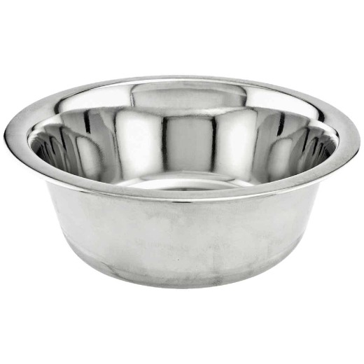 Westminster Pet Ruffin' it Stainless Steel Round 1 Qt. Pet Food Bowl