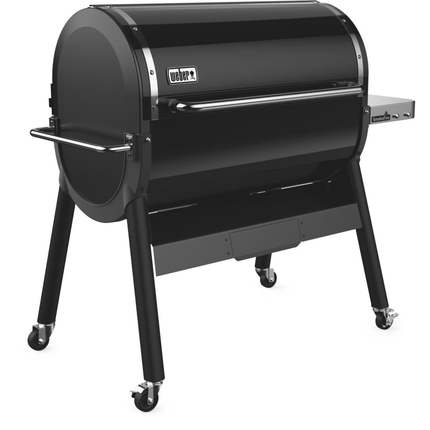 Weber SmokeFire EX6 Black 1008 Sq. In. Wood Pellet Grill Image 2