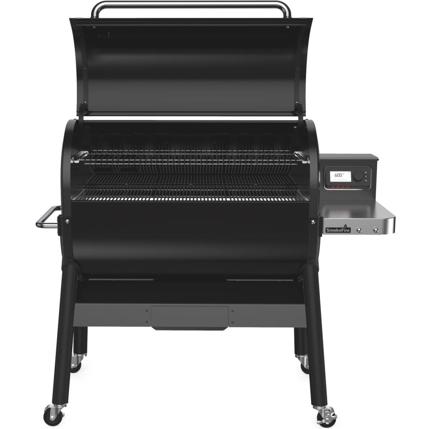 Weber SmokeFire EX6 Black 1008 Sq. In. Wood Pellet Grill Image 3