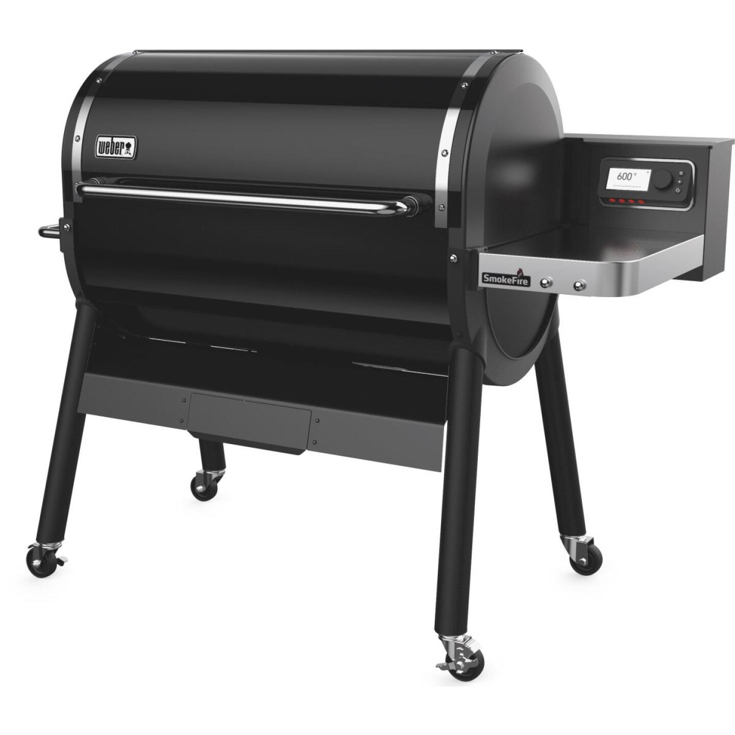 Weber SmokeFire EX6 Black 1008 Sq. In. Wood Pellet Grill Image 4