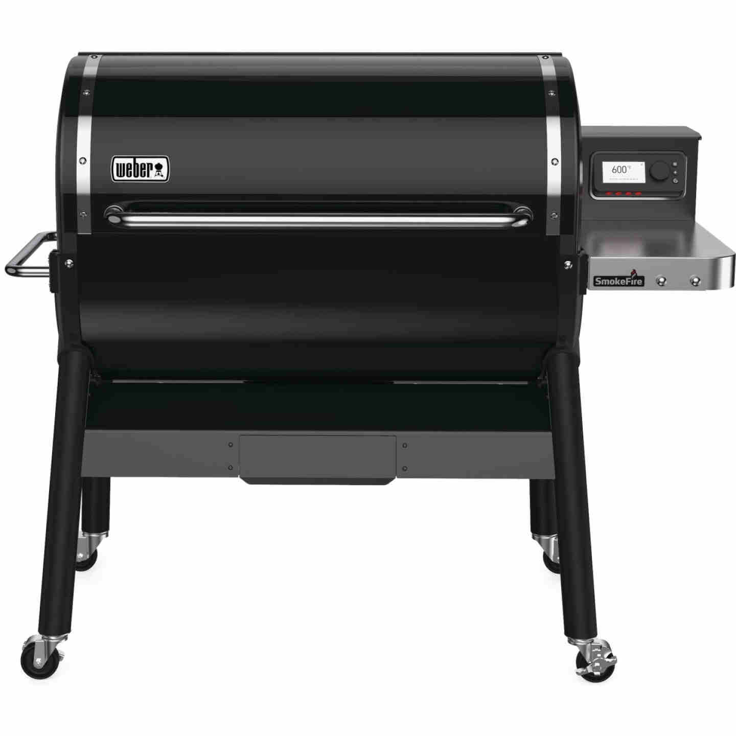 Weber SmokeFire EX6 Black 1008 Sq. In. Wood Pellet Grill Image 1