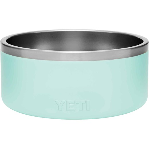 Yeti Boomer 8 Stainless Steel Seafoam Dog Food Bowl